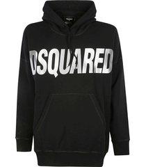 dsquared2 classic logo hoodie