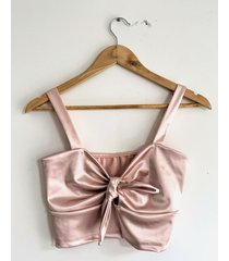top rosa circe nudo