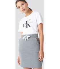 rut&circle cosy skirt - grey