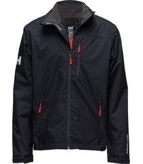 crew midlayer jacket outerwear sport jackets light jackets zwart helly hansen