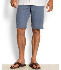 """tommy bahama men's havana herringbone 10.5"""" shorts, created for macy's"""