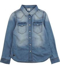 blusa just denim celeste ficcus