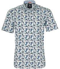 lerros overhemd - modern fit - wit
