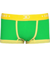 cueca sunga/sungão mini boxer tendence dionisio collection brasil verde - kanui