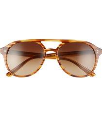 men's salt. rockwood 56mm polarized aviator sunglasses -