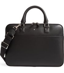 men's montblanc ultra slim leather document case -