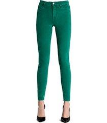 c.o.j. denim jeans 124766 groen