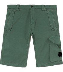 gabardine garment dyed shorts