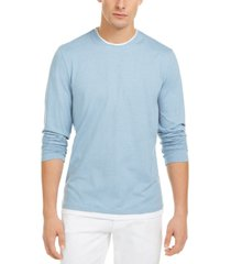 alfani men's layered-look t-shirt, created for macy's