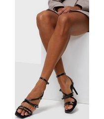 only onlalyx-3 pu heeled sandal high heel