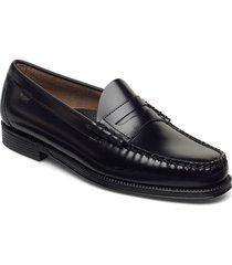 gh weejun ii larson moc penny loafers låga skor svart g.h. bass