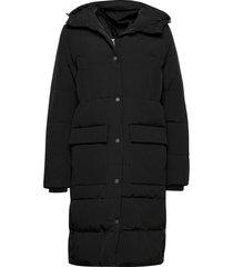 slfjenny down coat b gevoerde lange jas zwart selected femme