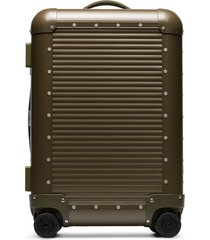 fpm milano x nick wooster spinner 53 suitcase - green