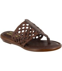 tuscany by easy street carlina thong sandals women's shoes
