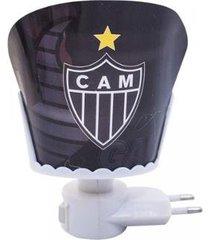luminária brasão atlético mineiro