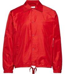 kael jacket tunn jacka röd wood wood