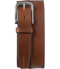 men's trask leather belt, size 36 - brandy