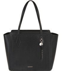 nine west chelsea three compartment tote