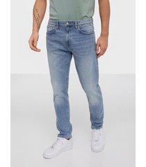 selected homme slhslimtape-toby 3020 lblu st jns w jeans ljus blå