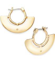 alfani wide decorative hoop earrings, created for macy's