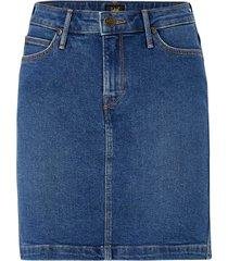 jeanskjol mid skirt