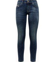 jeans diesel slandy-low azzurro