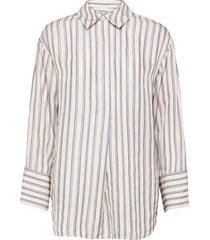 amy shirt 13088 långärmad skjorta creme samsøe samsøe