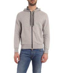 canali sweatshirt jersey black edition