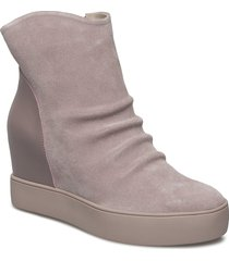 trish s shoes boots ankle boots ankle boot - heel rosa shoe the bear