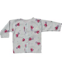camiseta manga larga estampado ositos fucsia santana
