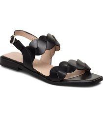 a-1403 shoes summer shoes flat sandals svart wonders
