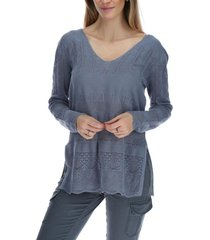 chaleco mujer florence gris rockford