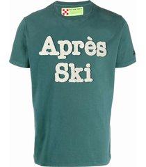 après ski terry patch t-shirt