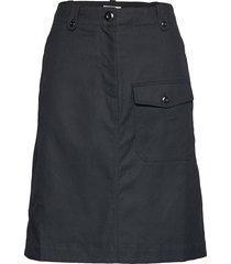 runa skirt knälång kjol svart wood wood