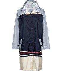 blockie magpie raincoat regenkleding blauw becksöndergaard