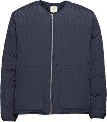 antton quilt jacket kviltad jacka blå r-collection