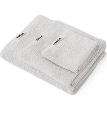 tekla organic cotton bath towel, size guest towel in lunar rock at nordstrom