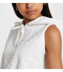 river island womens cream hooded sweater dress