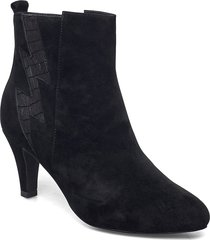 boot 7 cm shoes boots ankle boots ankle boot - heel svart sofie schnoor