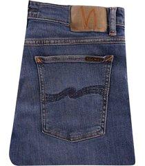 nudie jeans skinny lin | dark blue | 113169-blu