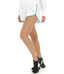 shorts puma summer - feminino - branco