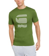 g-star raw men's graphic 15 logo t-shirt
