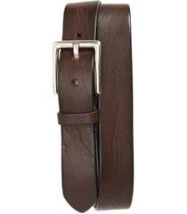 men's to boot new york vachetta leather belt, size 44 - florida tmoro