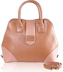 bolsa de mão campezzo couro camel