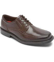 zapatos rockport oxford style leader 2 apron toe-cafe-chocolate