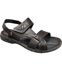 sandália papete pegada tamanhos grandes - masculino
