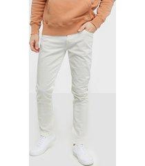selected homme slhslim-leon 6221 opt. white st jea jeans vit