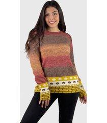 sweater lana extra suave mujer burdeo enigmática boutique