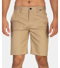 hurley men's one & only stretch chino 21""