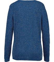 glittrande tröja dress in kungsblå